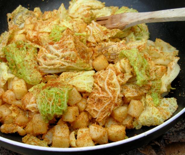 Hungarian Cabbage and Potatoes