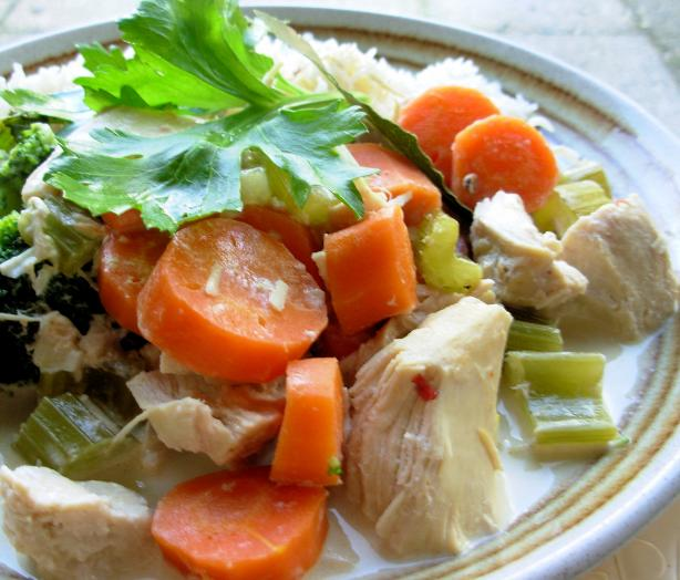 Peppered Chicken and Vegetables