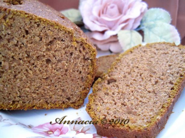 Whole Wheat Pumpkin Gingerbread