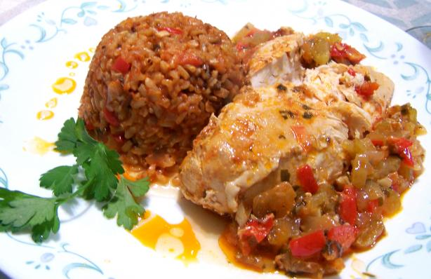 Sofrito Chicken (Crockpot, Crock Pot)
