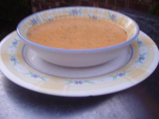Roasted Pepper Potato Soup Recipe