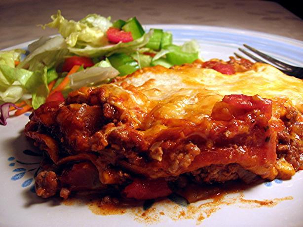 Enchilada Stack Casserole