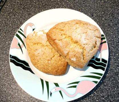 Ginger Orange Marmalade Scones!