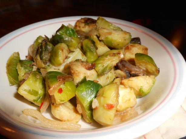 Chinese Brussels Sprouts
