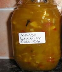 Rob's Mango and Chilli Chutney