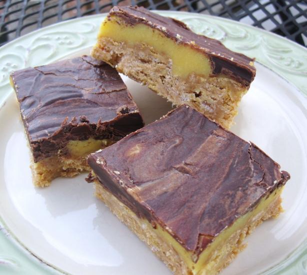 Yum-Yum No Bake 3 Layer Bars
