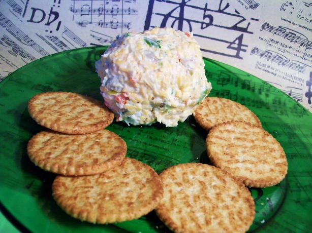 Maureen's Festive Cheese Ball