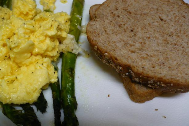 Roasted Asparagus With Scrambled Eggs - Barefoot Contessa / Ina