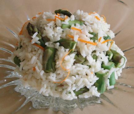 Basmati Asparagus Rice