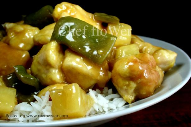 Hawaiian Sweet and Sour Chicken