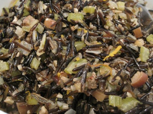 Apple Walnut Rice Stuffing (Vegan)
