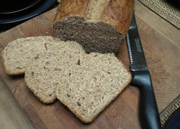 Apple Butter Rye Bread