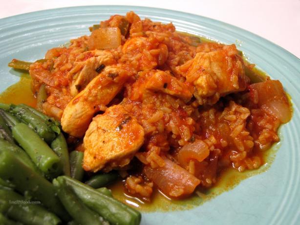Chicken-Rice Cacciatore