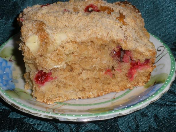 Cranberry-Pecan Streusel Coffeecake