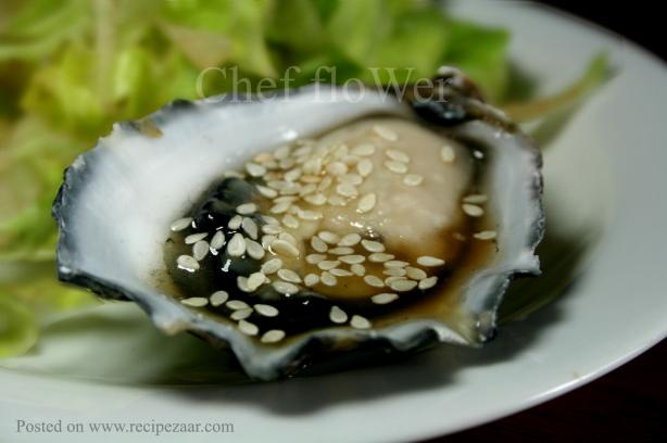 Oysters With Sesame Dressing