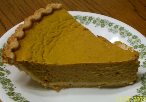 Pumpkin Pie - Prize Recipe