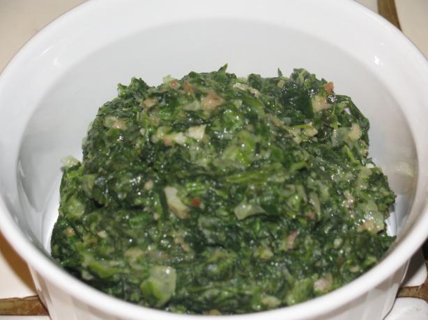 Gulliver's Creamed Spinach