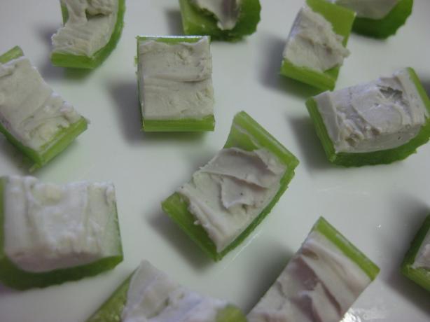 Bleu Cheese Celery Sticks