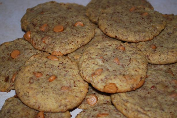 Butterscotch Flax Cookies