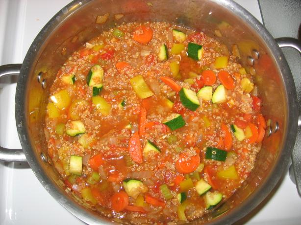 Peruvian Quinoa Stew....(Vegan/Vegetarian)