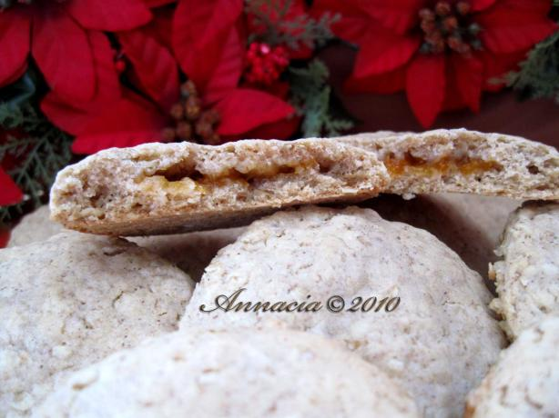 Jam Filled Oatmeal Cookies