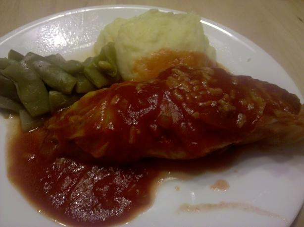 Dirty Rice Stuffed Cabbage