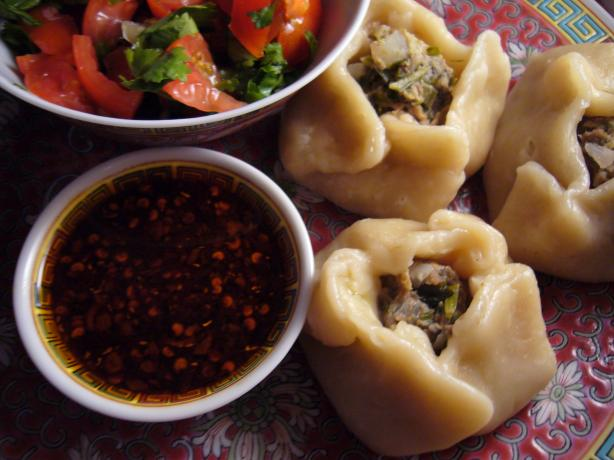 Momos - Tibetian Steamed Dumplings