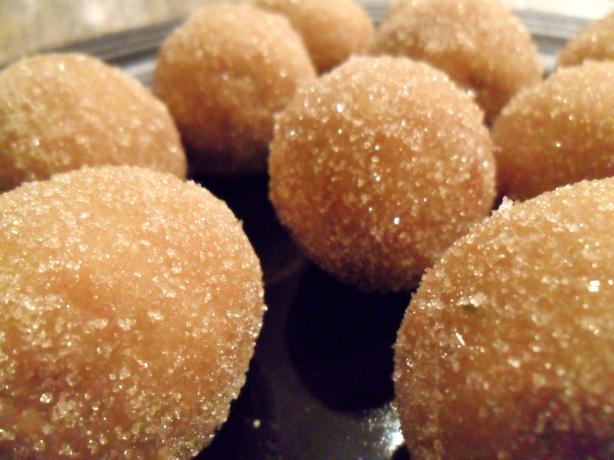 Marzipan Snowball Truffles (Vegan)