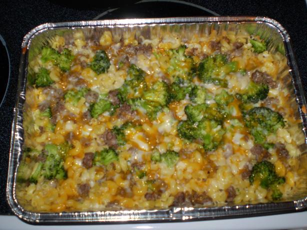 Meaty Mac & Cheese Bake