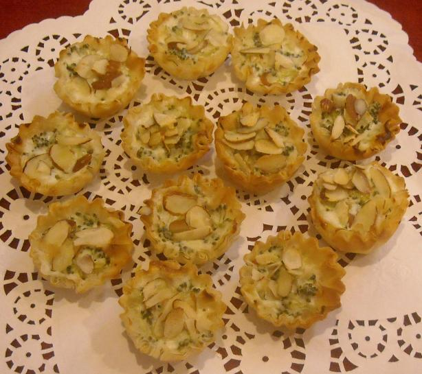 Mini Blue Cheese Tartlets