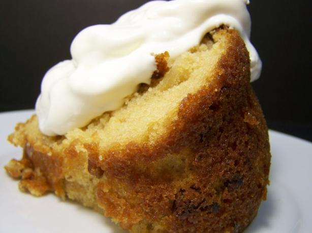 Coconut Surprise Bundt Cake