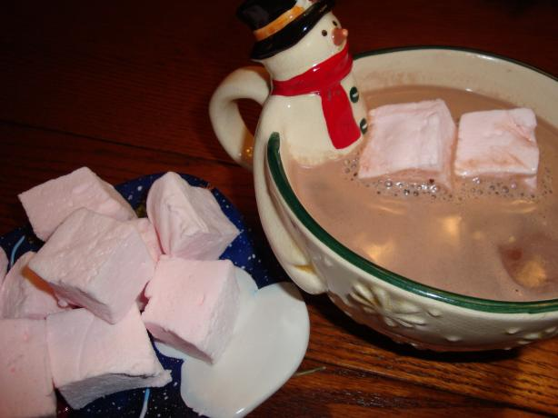 Homemade Peppermint Marshmallows