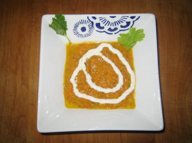 Spicy Potage Crecy (Carrot)