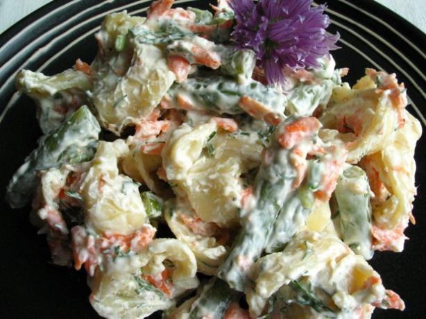 Creamy Tortellini Salad