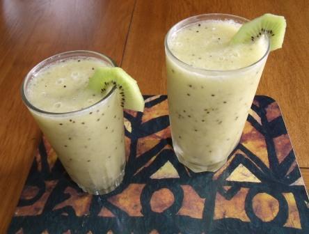 Kiwifruit Frappe