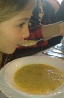 Arabic Lentil Soup - Shorbat Addas