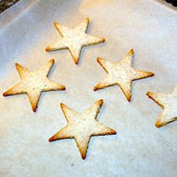 Gluten Free Star Cookies