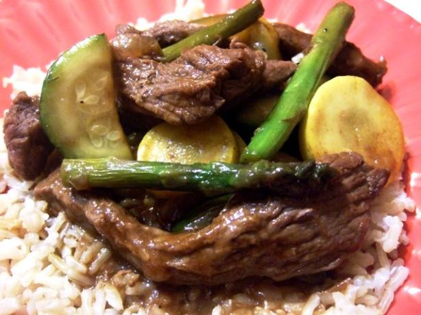 Stir-Fry Beef
