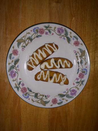 Pumpkin Biscotti With White Chocolate