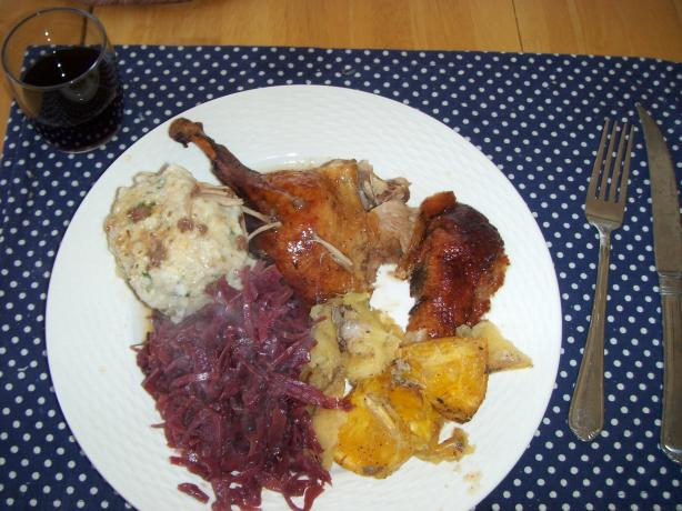 Red Cabbage With Apples (Rot Kraut Mit Äpfeln)