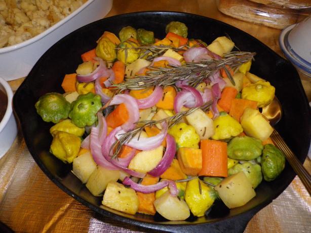 Nif's Fall Harvest Vegetable Bake