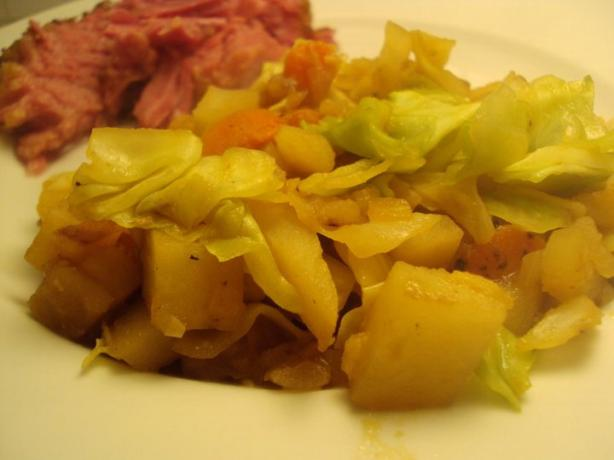 Cabbage and Potato Hash