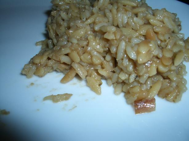 Beef Orzo and Rice
