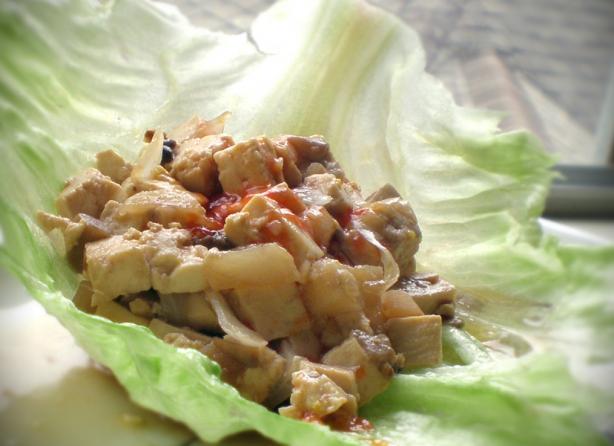 Pf Chang's Tofu Lettuce Wraps