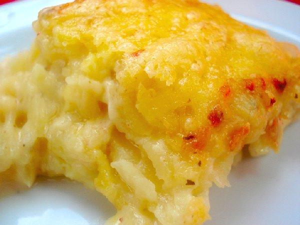 Naughty and Nice Potato Gratin
