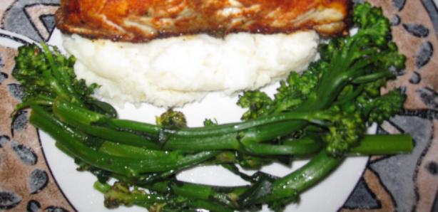 Buttery Lemon Broccolini