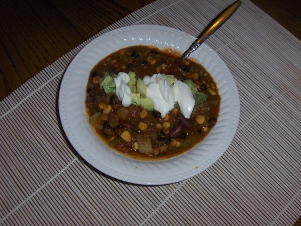 Melanie's Vegetable & Bean Chili