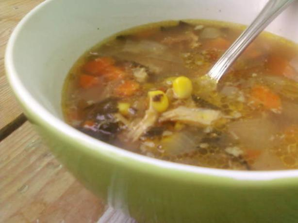 Transylvanian Chicken Sour Soup