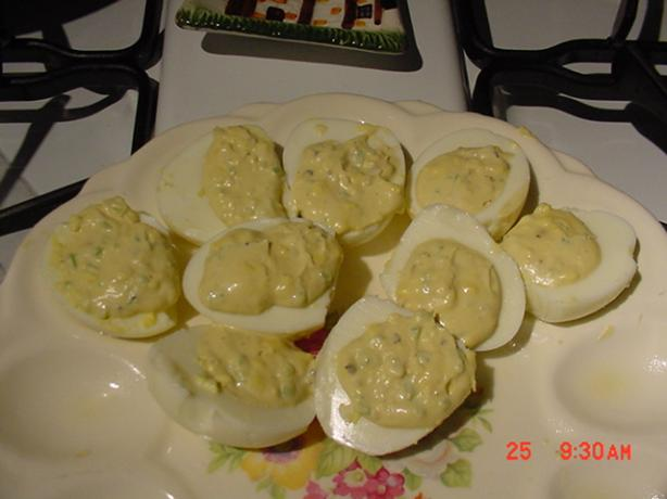 Eggs Deviled Eggs..... Creole Deviled Eggs