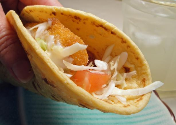 Robyn's Fish Stick Tacos.